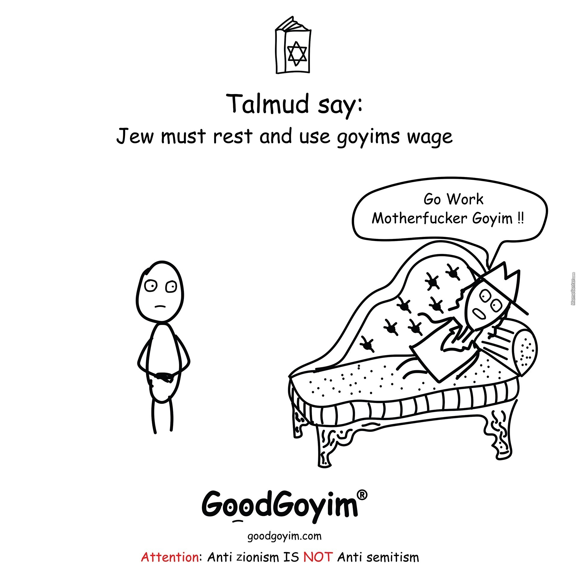 Jew Must Use Goyims Wage #talmud #jew #use #goyim #wage #goodgoyim