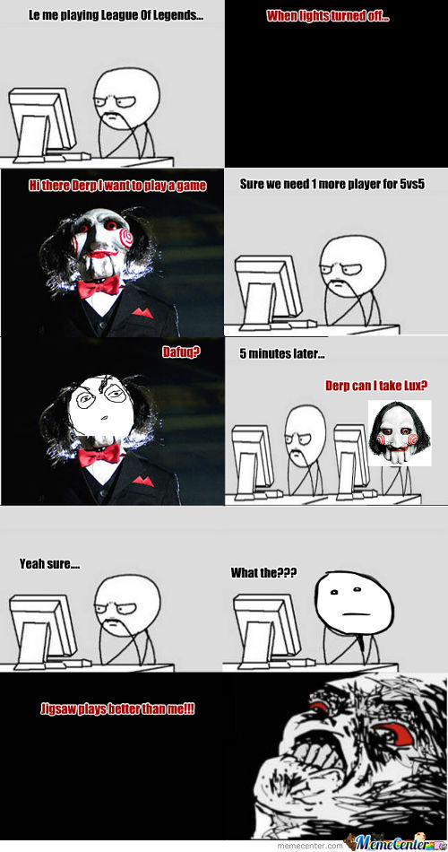 Jigsaw Can Play Lol