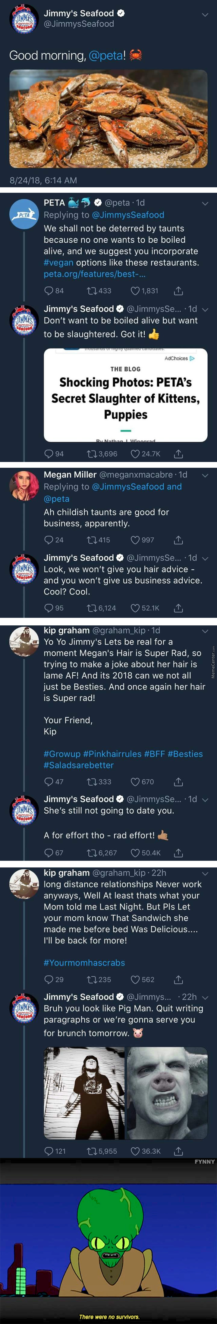 Jimmy's Seafood Is Wendy's Competition