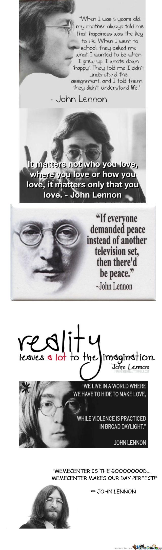 John Lennon Quotes By Rhichardbalusdan