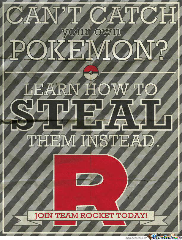 Join Team Rocket Today!