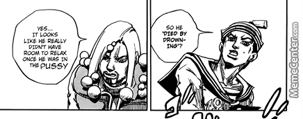 Jojolion Chapter 32 Edit: Drowning In The Pussy
