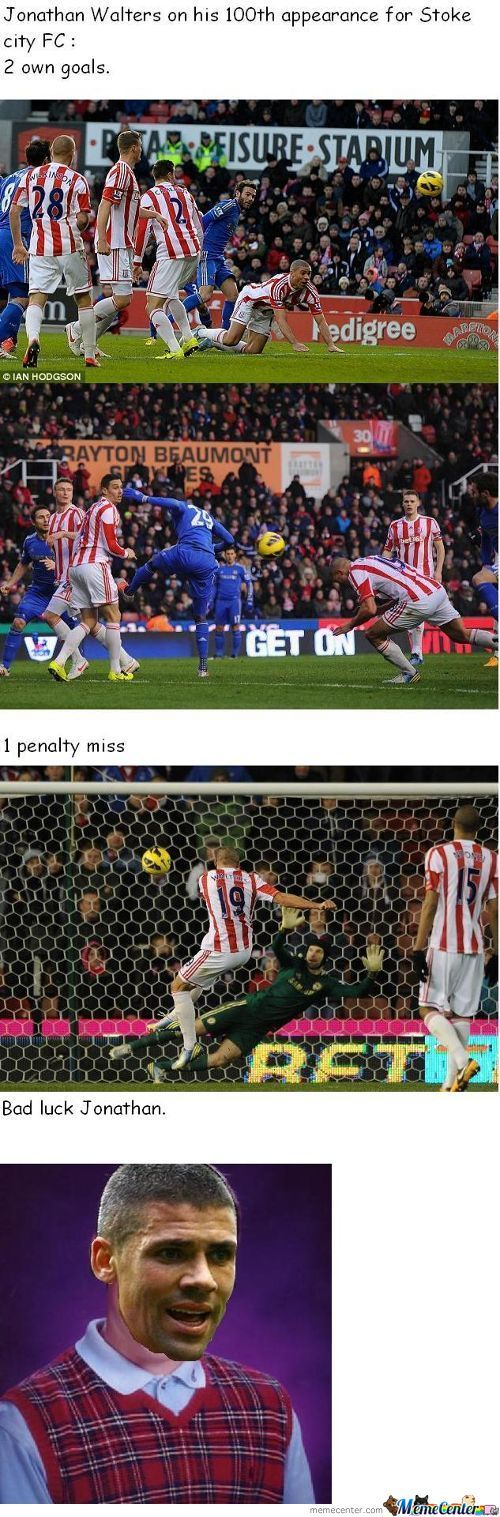 Jonathan Walters = Bad Luck Brian