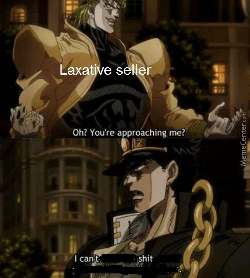 Jotaro Can't Shit