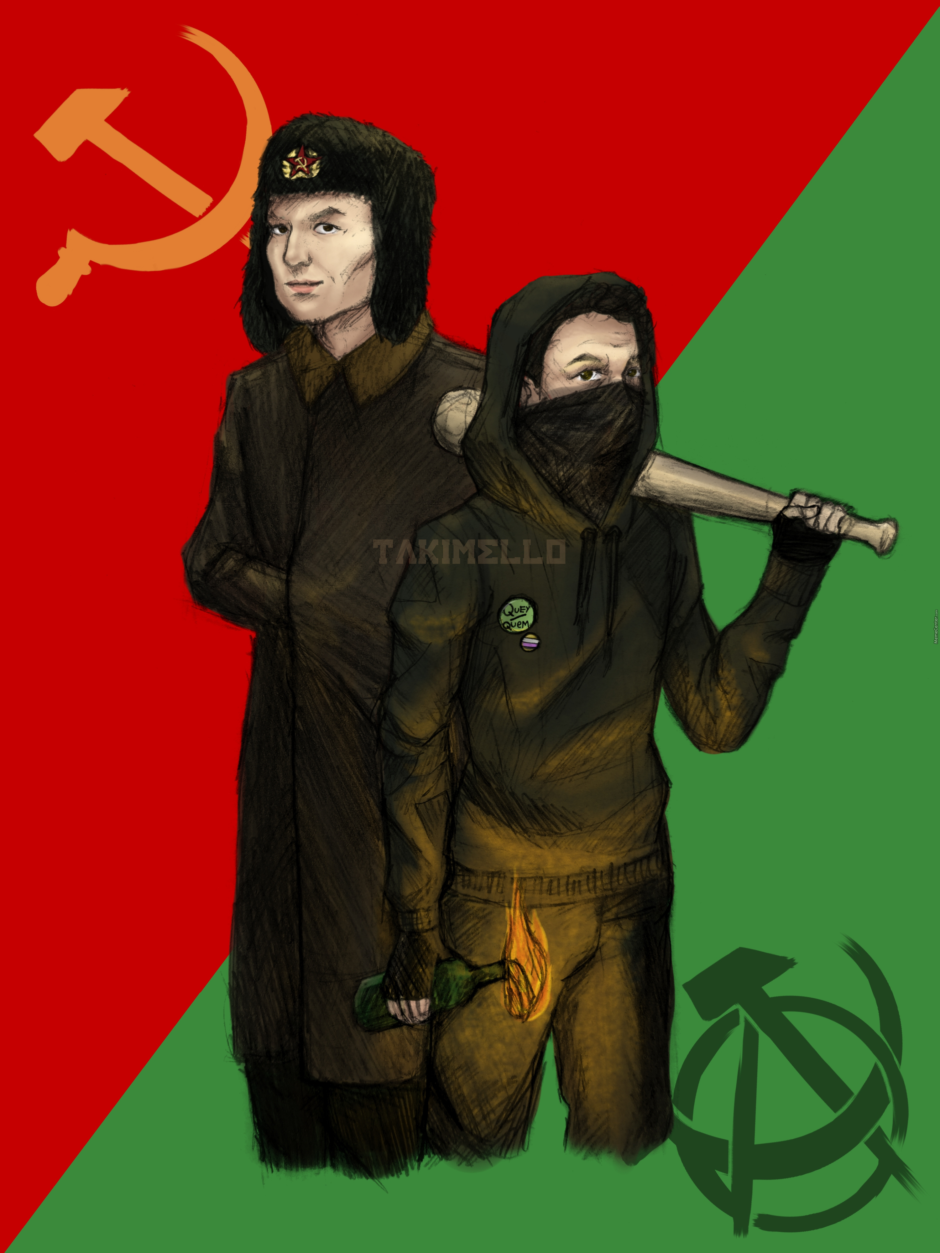 Jreg Leftist Unity Fanart - This Is My First Post In Years I Missed This Aaaaaa
