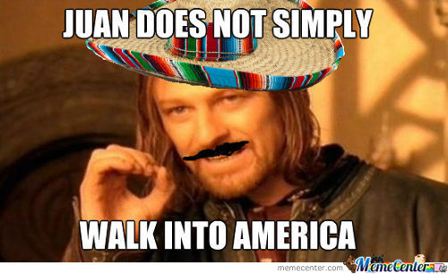 Juan Does Not Simply...