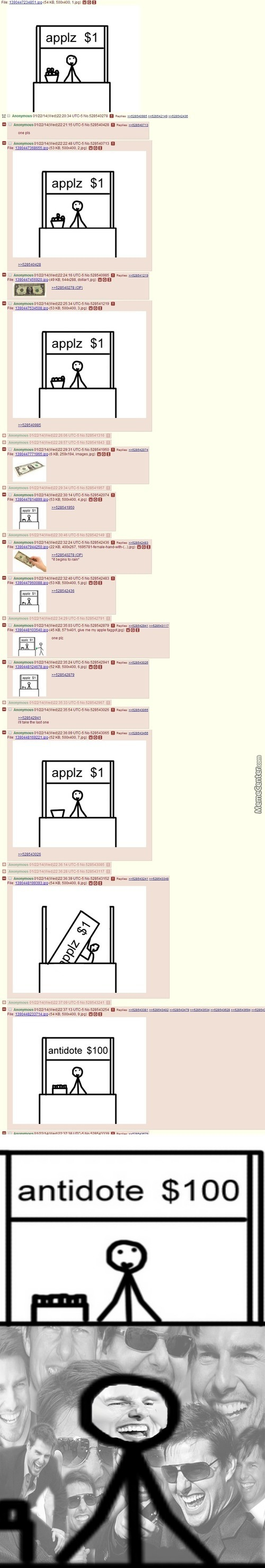Just 4Chan Selling Apples