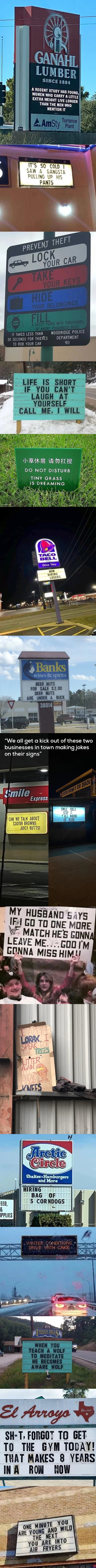 Just A Compilation Of Signs #16