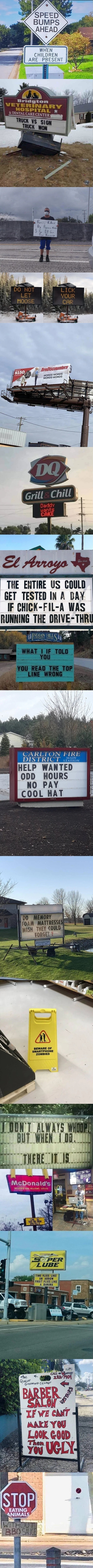 Just A Compilation Of Signs #17