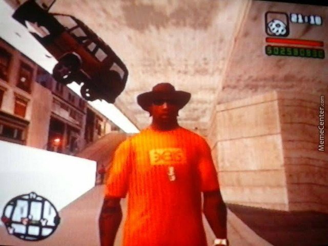 Just A Normal Day In San Andreas