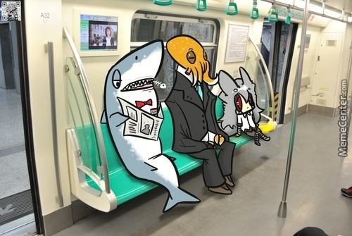 Just A Normal Day .. .in Subway . .