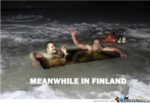 Just A Normal Finnish Hot Tub