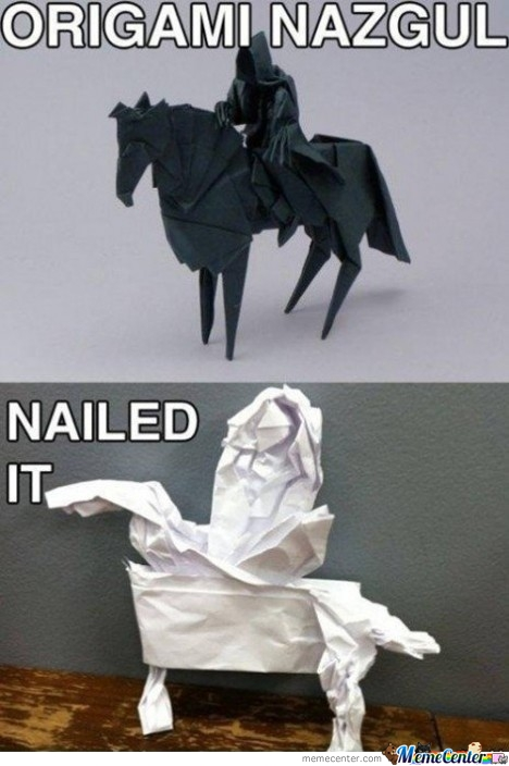 Just An Origami.