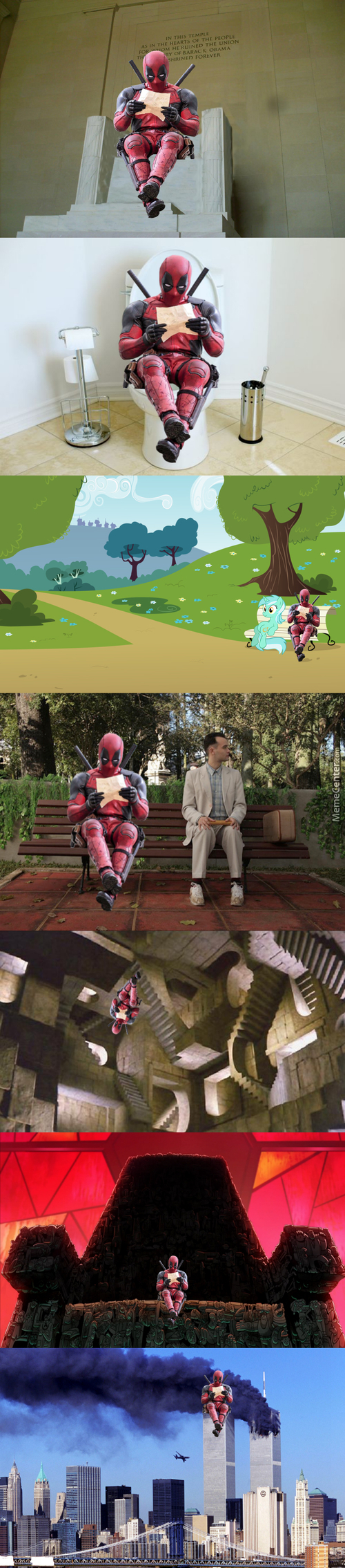 Just Another Deadpool Photoshop Compilation