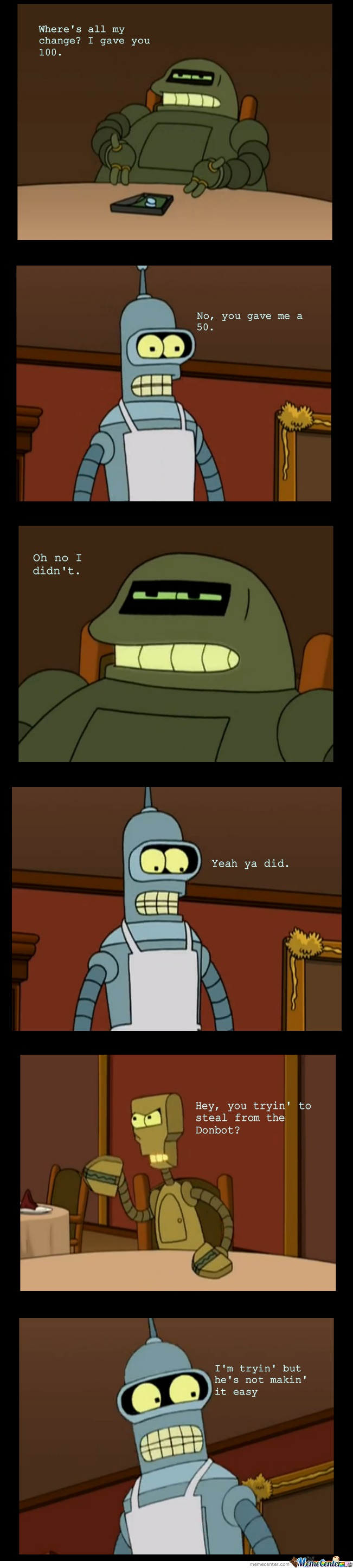 Just Bender Being Awesome