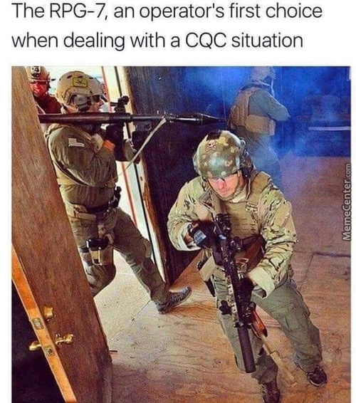 Just Blow Up The House And Turn The Cqc Situation Into A Medium-Range Engagement