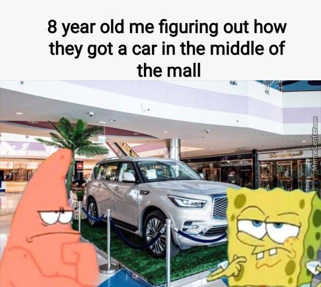 Just Build The Mall Around The Car