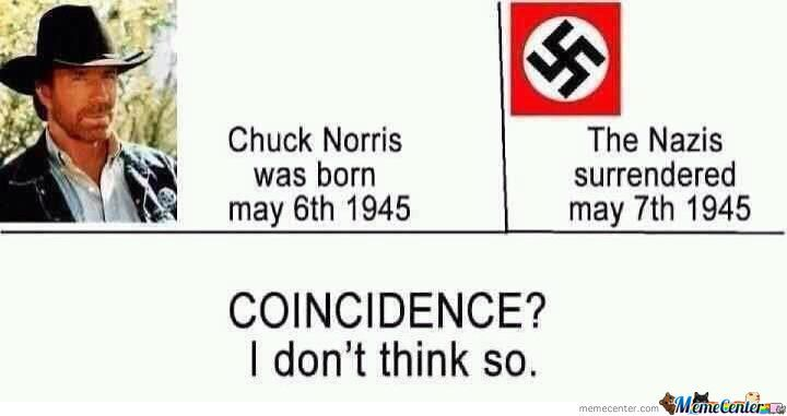 Just Chuck Norris -_-