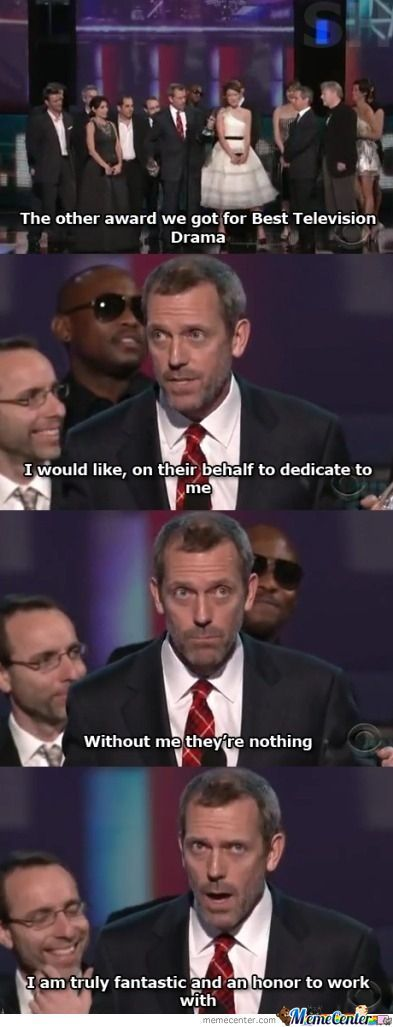 Just Dr. House