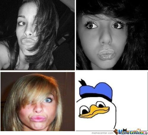Just Duckface