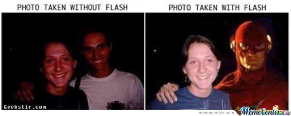 Just Flash!!