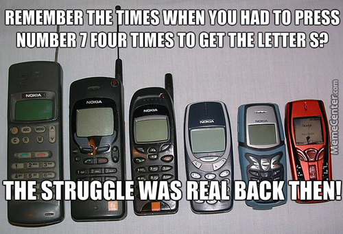 Just Found My Old Cellphone