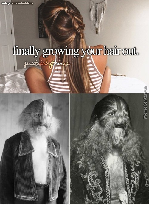 Just Girly Things - Hypertrichosis
