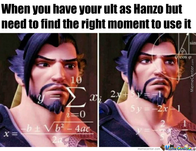 Just Hanzo Things