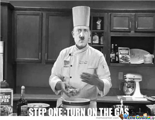 Just Hitler Cooking... What What ??
