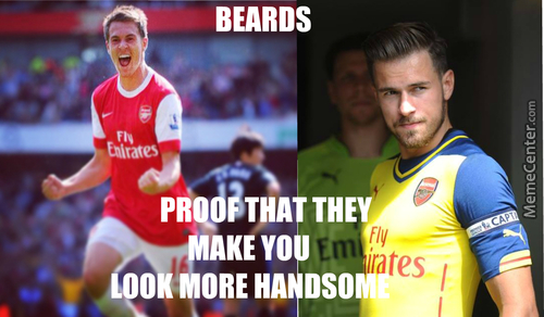 Just Look At Aaron Ramsey