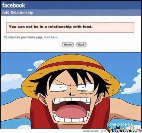 Just Luffy Being Himself