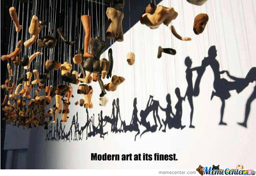 Just Modern Art Being Modern Art.