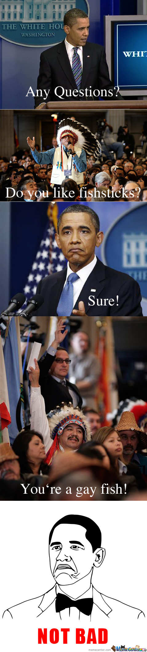 Just Obama Answering Some Questions.. Wait What?!?