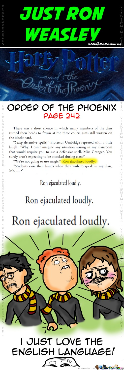Just Ron Weasley