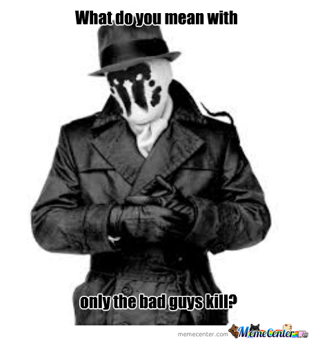 Just Rorschach Being Rorschach