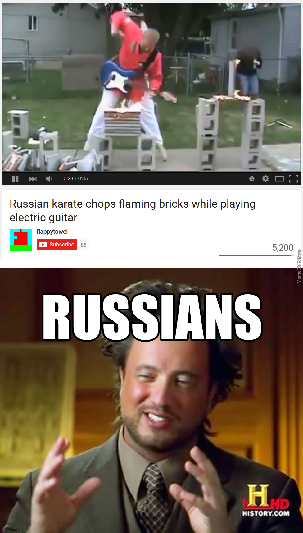 Just Russians...