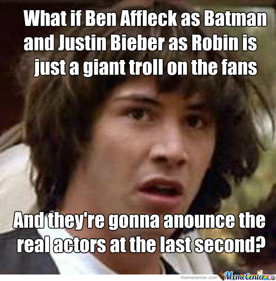Just Sayin Guys... What If?