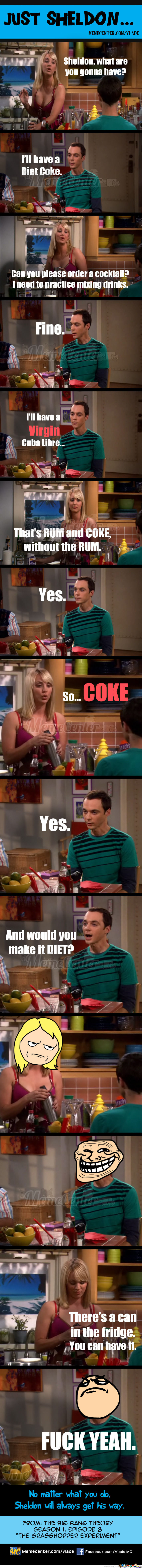 Just Sheldon...