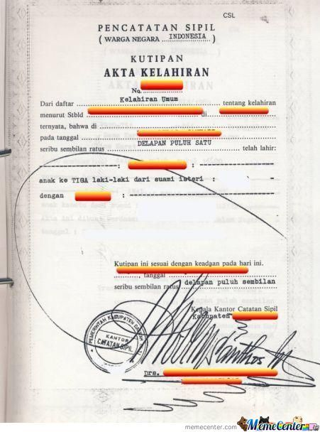 Just Signature In Indonesia