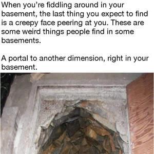 just some weird things people found in the basement