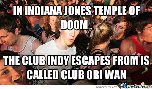 Just Star Wars And Indiana Jones Working Together