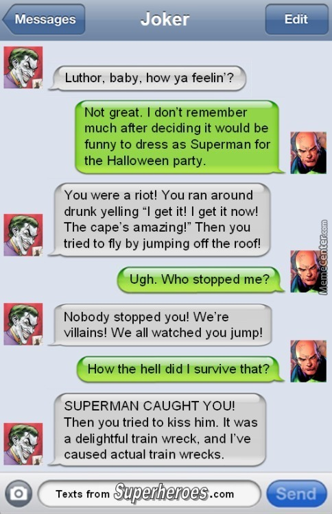 Just Supervillain Things 002