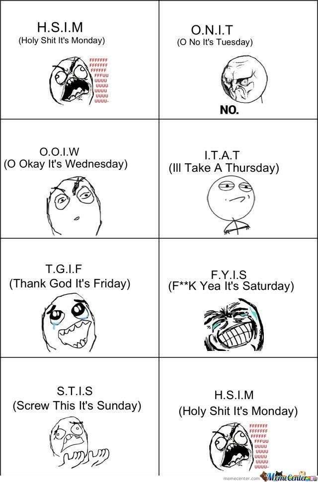 Just The Normal Week