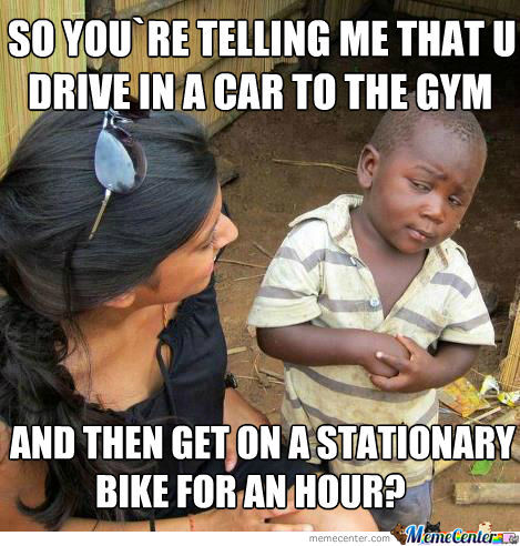 Just Thought About This Today Driving To The Gym