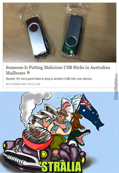Just When You Though Australia Couldn't Get Anymore Dangerous