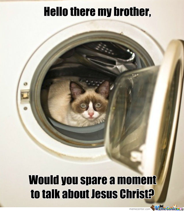 Just While You're Washing Laundry, Please Sir.