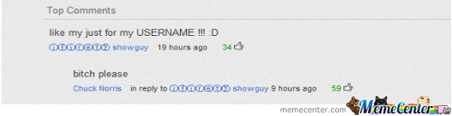 Just Youtube Comment