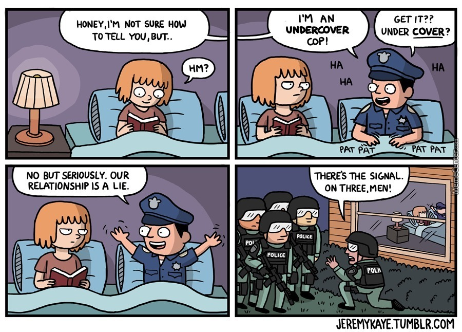 #justcopthings