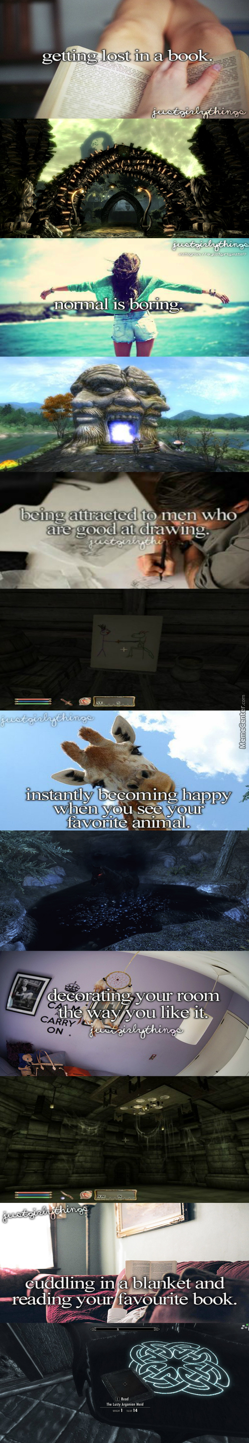 Justelderscrollsthings (I Have Only Played Oblivion And Skyrim)