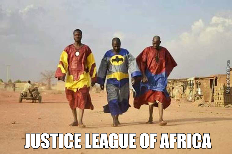 Justice League Of Africa